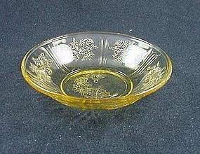 Sharon Individual Berry Bowl  - Amber