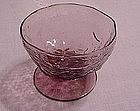 Morgantown Crinkle Sherbet - Amethyst & Topaz