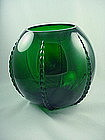 Radiance Emerald Green Punch Bowl