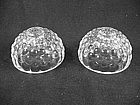 Bubble Crystal Candlestick Set