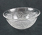 Sandwich Small Scalloped Rim Bowl - Crystal