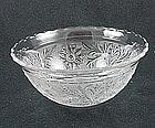 Sandwich Small Scalloped Rim Bowl - Crystal