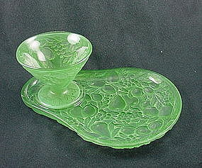 Consolidated Glass FIve Fruits Luncheon Set