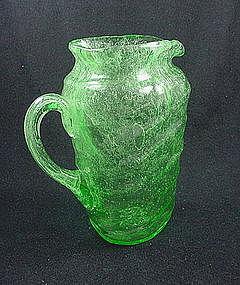 Consolidated Catalonian Emerald Tri Jug