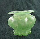 Consolidated Catalonian Jade Violet Vase
