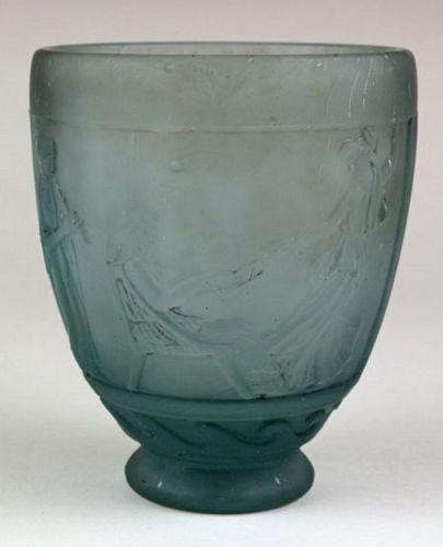 Pate de Verre Vase
