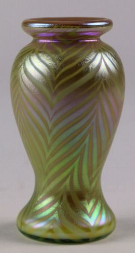 Pulled Feather Vase