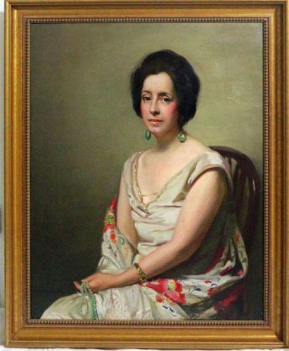 Portrait of a Lady by Stanislav Rembski