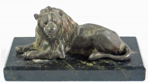 Bronze Cast Lion