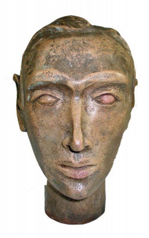 Sculpted Bust of Man