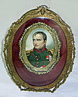 Shadow Box Portrait of Napoleon Bonaparte