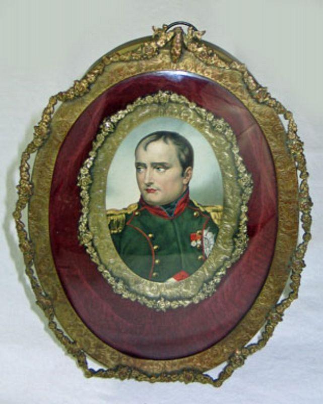 Shadow Box Portrait of Napoleon Bonaparte