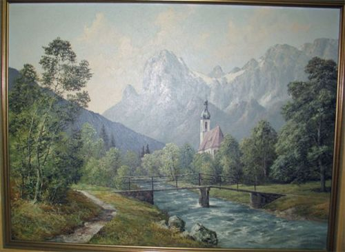 Continental Mountain Scene ( Frederick Kammeyer )