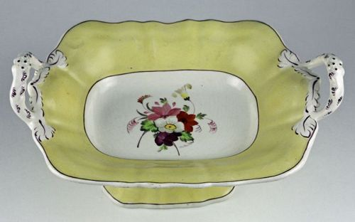 English Porcelain Compote