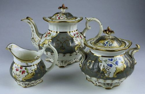 English Porcelain Tea Set