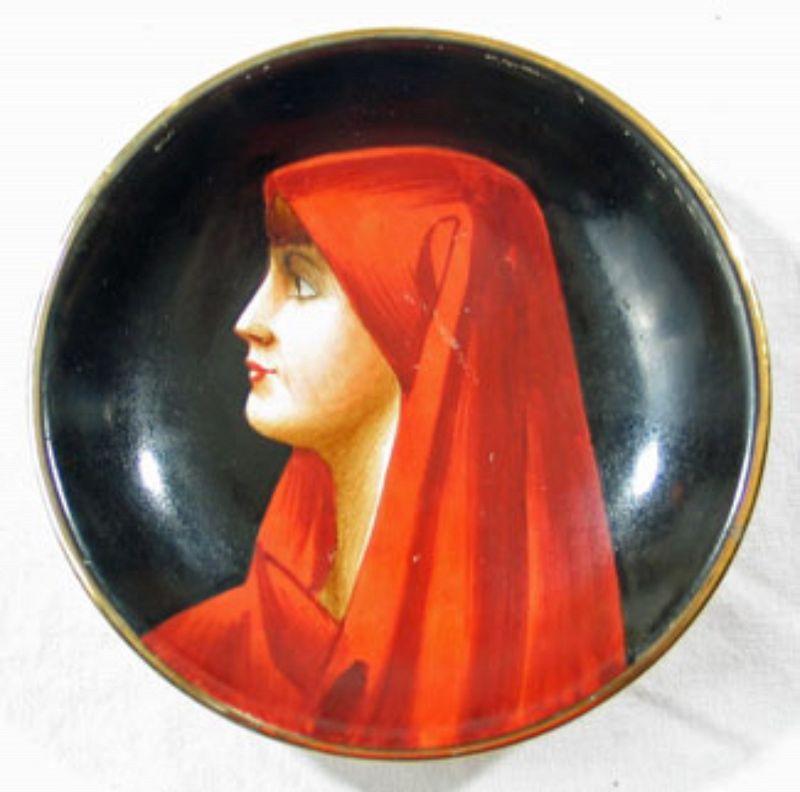 Fabiola Miniature Portrait Plate
