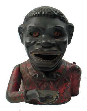 Jolly Nigger Mechanical Bank