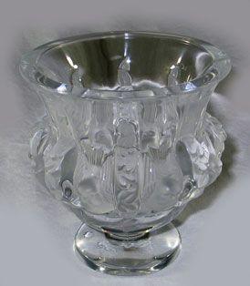 Lalique Dampierre Vase