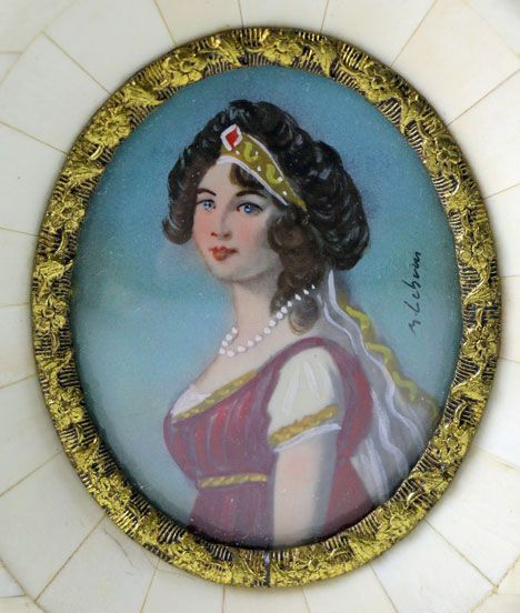 Miniature Portrait of Queen Louise of Prussia