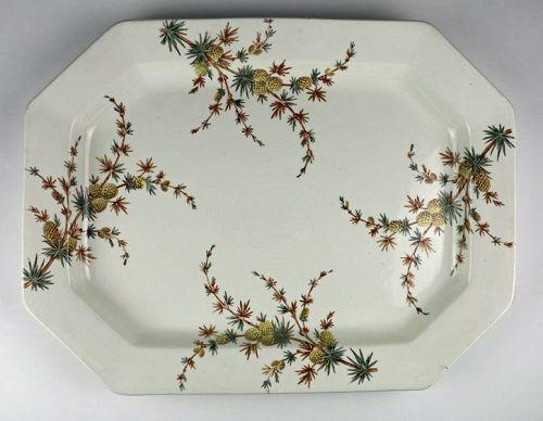 Monumental Serving Platter - Cenis Pattern