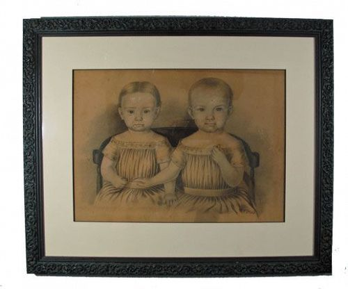 Portrait of Children, 19th C.
