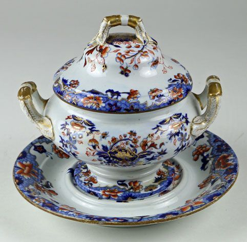 Spode New Stone Covered Tureen