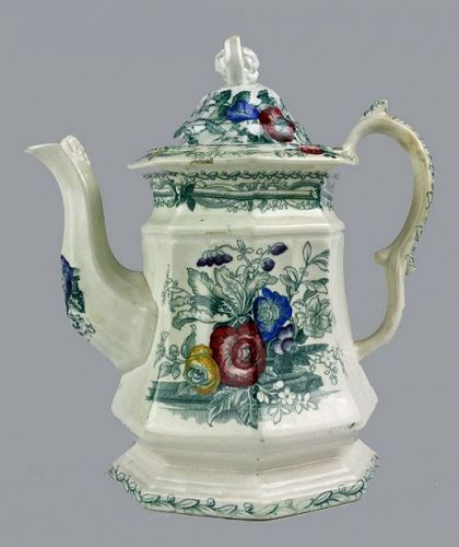 Staffordshire Ironstone Coffee Pot