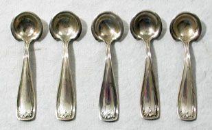 Sterling Silver Salt Spoon