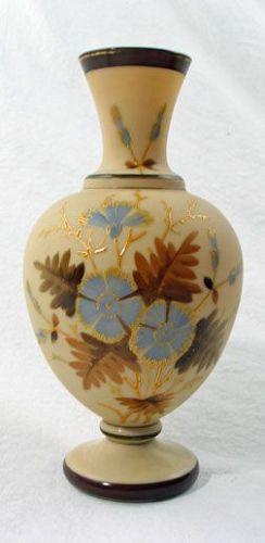 Victorian Fireglow Vase