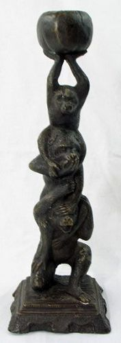 Wise Monkeys Bronze