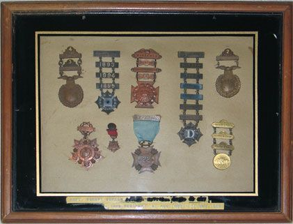 122d Regiment Army Medals (New York)