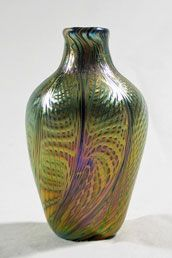 Art Glass Vase (Quezal)