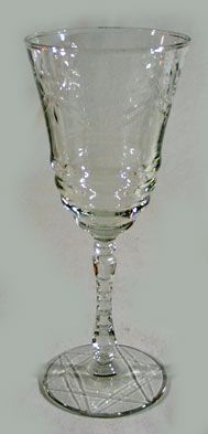Flint Glass Wine Goblet