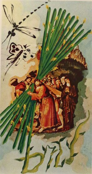 Ten of Staves (Salvador Dali)
