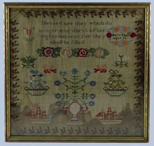 Sampler of Mary Thomas