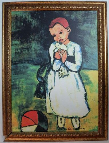 Child and Dove, After Picasso