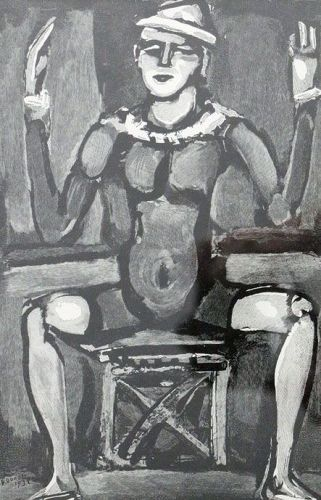 Clown Assis, Georges Rouault