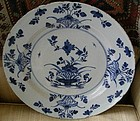 English London Delft Faience Plate, c. 1780