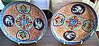 Pair of Japanese Imari Porcelain Plates, c. 1870