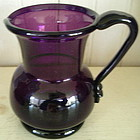 South Jersey Type Amethyst Glass Cream Pitcher 1810