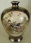 Miniature Kyoto Satsuma Vase