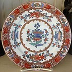 Old Paris Handpainted Famille Rose Plate, c. 1870