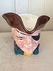 Sterling Pottery Handpainted Character Jug, 1930