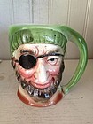Arnhart, 5th Ave. Pottery Pirate Character Jug, c. 1920