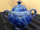American South Jersey Porcelain Sugar Bowl, c. 1815