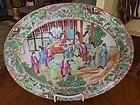 Chinese Export Porcelain Mandarin Platter, c. 1820