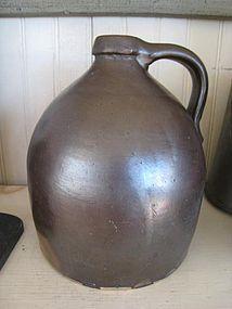 American Stoneware Jug, c. 1870