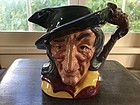 Royal Doulton Pied Piper Toby Jug with three mouse handle, 1953