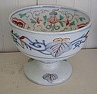 Japanese Imari Porcelain Saki Cup Basin, c. 1870