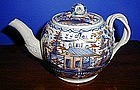 English Leeds Pearlware Tea Pot, c. 1775